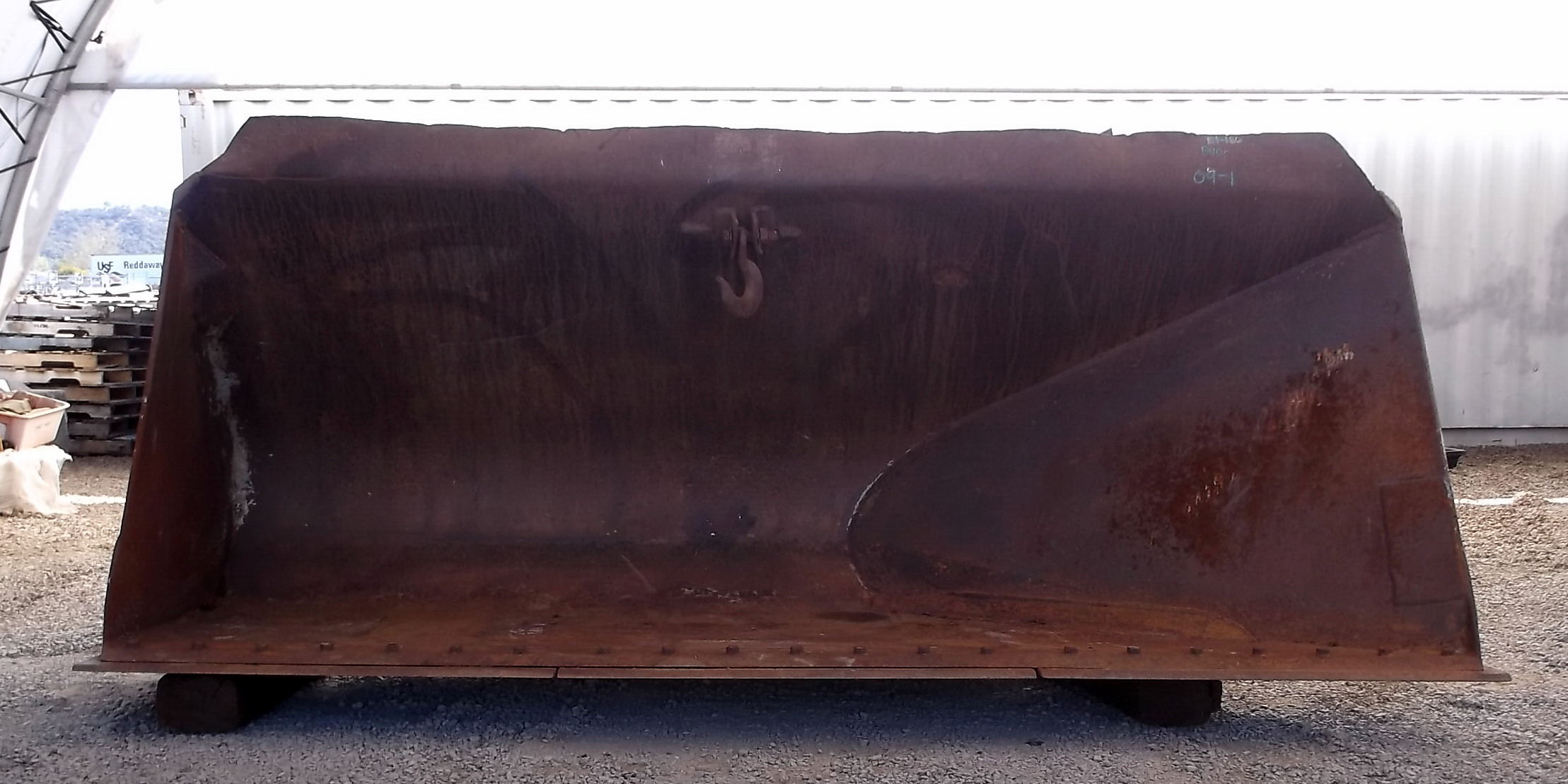 Used 132 Quot Caterpillar 966d Pin On Side Dump Loader Bucket