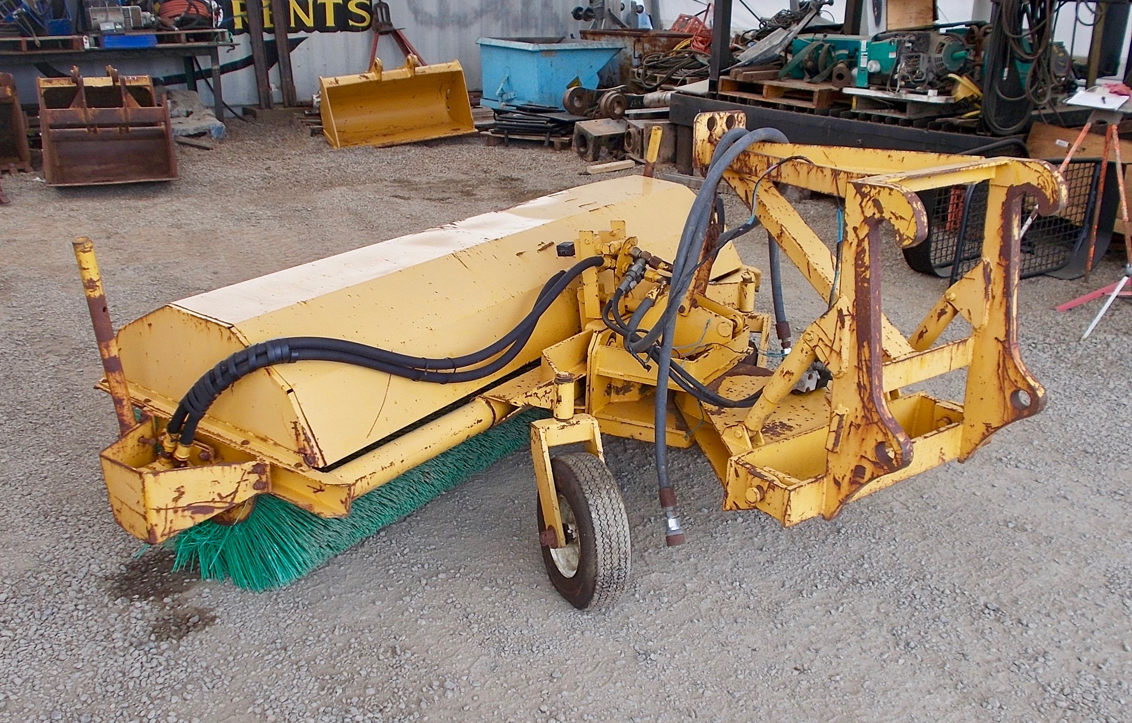Used 96 Quot It Hooks Sweeper Broom For Sale